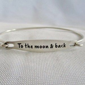 CHAMILIA STERLING SILVER MOON BACK LOVE Bracelet